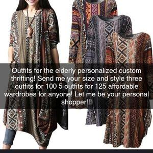Wardrobe for the elderly